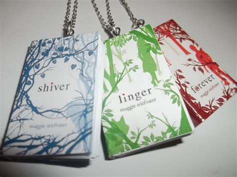 shiver books shiver linger and forever miniature book by carasbookishcharms