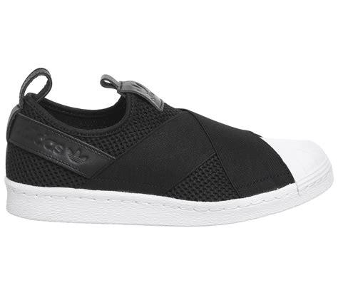 Murah Adidas Slip On Made In 03 adidas superstar slip on black white unisex sports