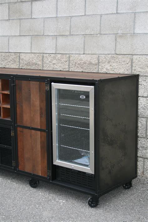 Cabinet Beverage Fridge by Combine 9 Industrial Furniture Refrigerator Liquor