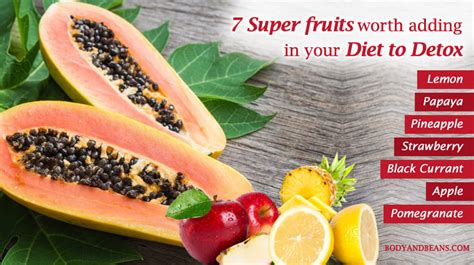 Fruits That Detox Your by And Beans