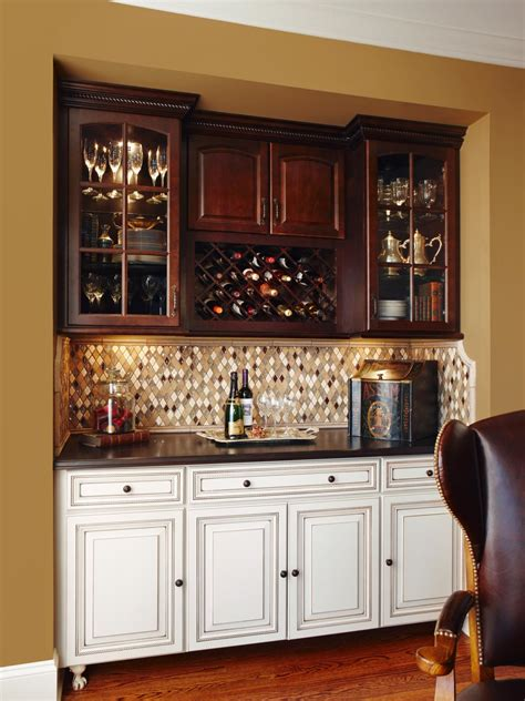 kitchen bar cabinet ideas photo page hgtv