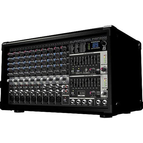 Harga Mixer Behringer behringer europower pmp2000 powered mixer musician s friend