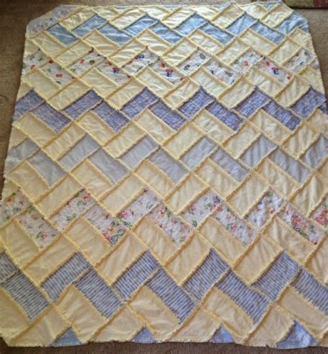1000 ideas about rag quilt patterns on rag