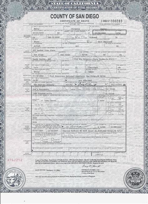San Diego County Vital Records Birth Certificates Genea Musings 12 15 13