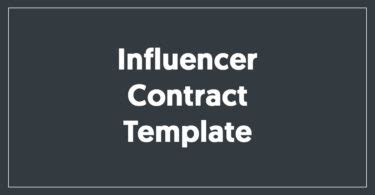 50 Influencer Marketing Statistics Quotes And Facts Instagram Influencer Agreement Template