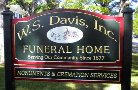 ws davis funeral home avie home
