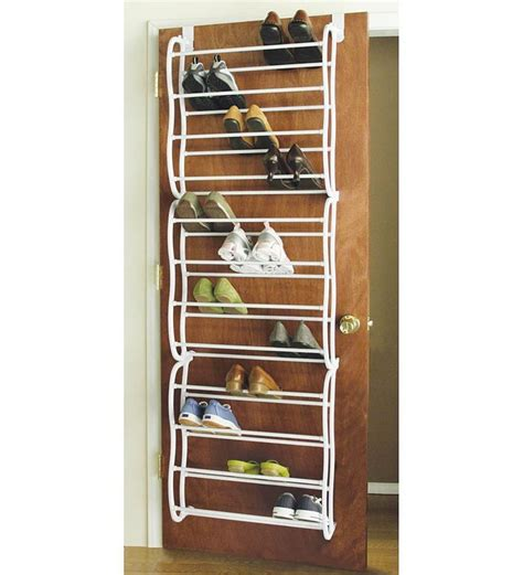 shoe organizer diy 20 great space saving ideas for doors shoe rack diy