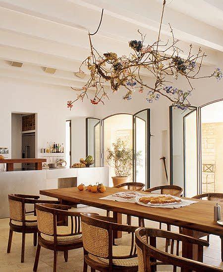i want a house like this rustic chic dining room