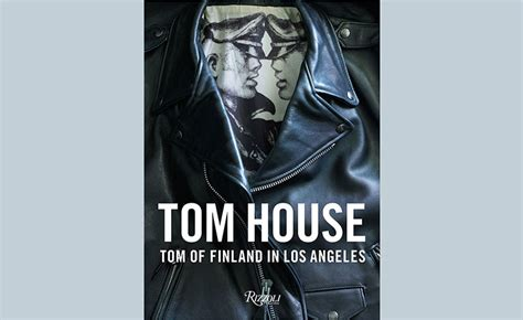 tom  finland  rizzoli present tom house wallpaper