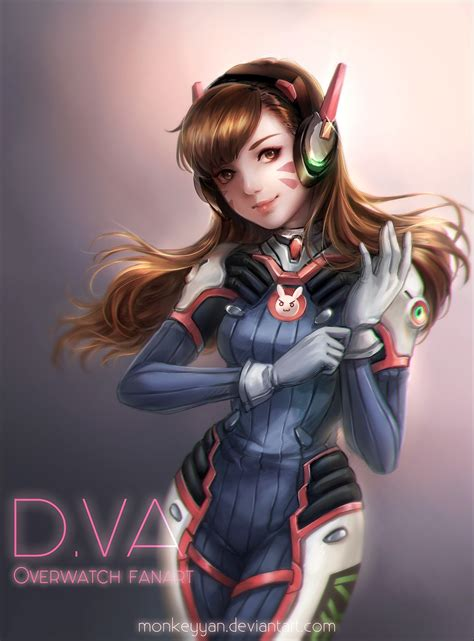 Anime D by Hair Anime Anime Overwatch D Va