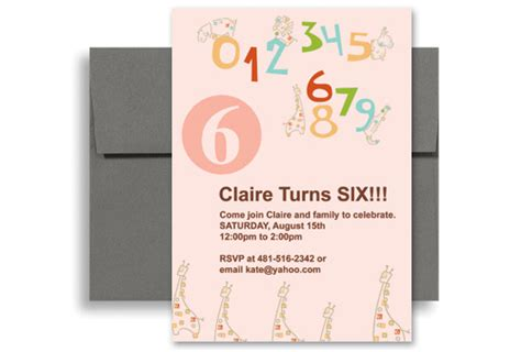 How To Make Birthday Invitations On Microsoft Word Pink Microsoft Word Birthday Invitation 5x7 In