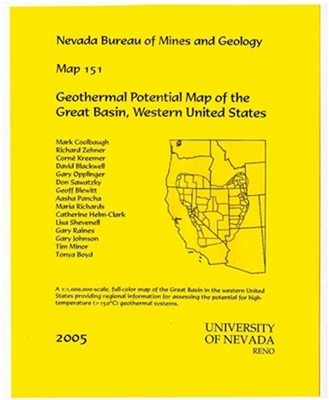 map of the united states great basin geothermal potential map of the great basin western
