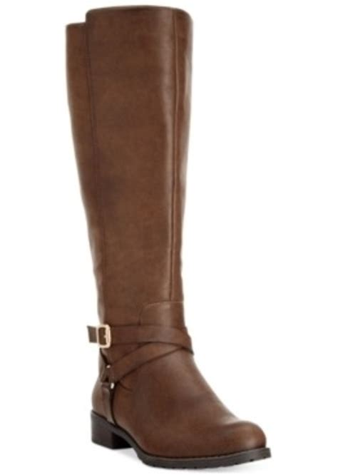 macys womans boots style co style co brigyte wide calf boots only