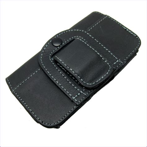New Belt Clip Holster Leather Skin Cover Pou Limited compact flip horizontal leather belt clip loop holster