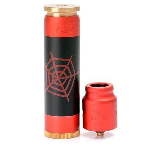 Av X Complyfe Battle Deck Style Clone Vape Rda av spider style mechanical mod kit complyfe battle style rda