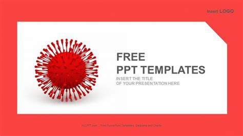 virus powerpoint template free powerpoint templates design