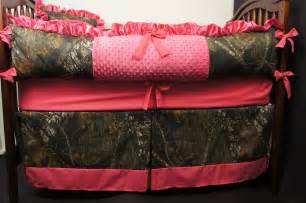 Pink Camouflage Crib Bedding Custom Made Mossy Oak Pink Baby Bedding Crib Set By Babylooms