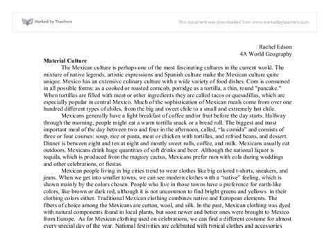 Mexican Culture Essay by American Culture Essay Writing Original Content