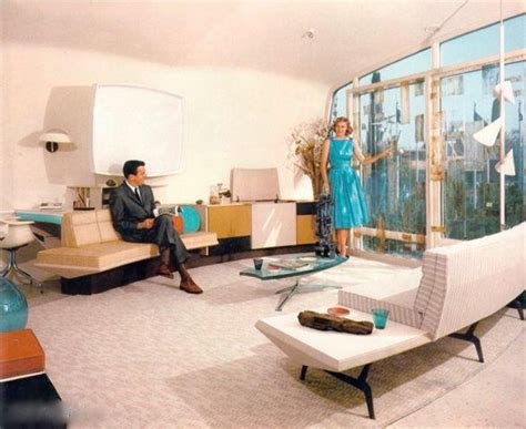 Used Living Room Furniture Nj Disney Avenue Living In The Monsanto House Of The Future