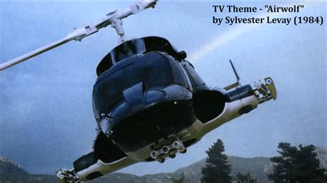 theme song airwolf tv theme quot airwolf quot by sylvester levay and udi harpaz