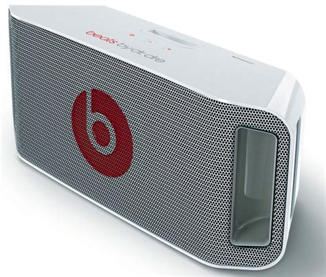 Speaker Dr Audio beats by dr dre beatbox portable ipod speaker dock ecoustics