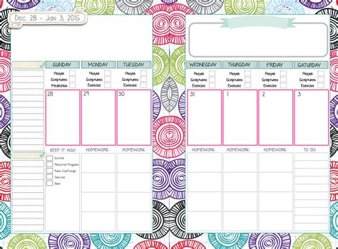 mormon mom planner printable mormon mom planners young woman planner would be nice