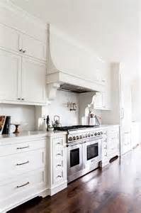 Kitchen Island Vent White French Kitchen Hood With Corbels And White Marble