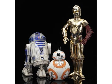 Figure Robot Wars R2d2 Bb 8 wars artfx c 3po r2 d2 with bb 8 statue pack the awakens