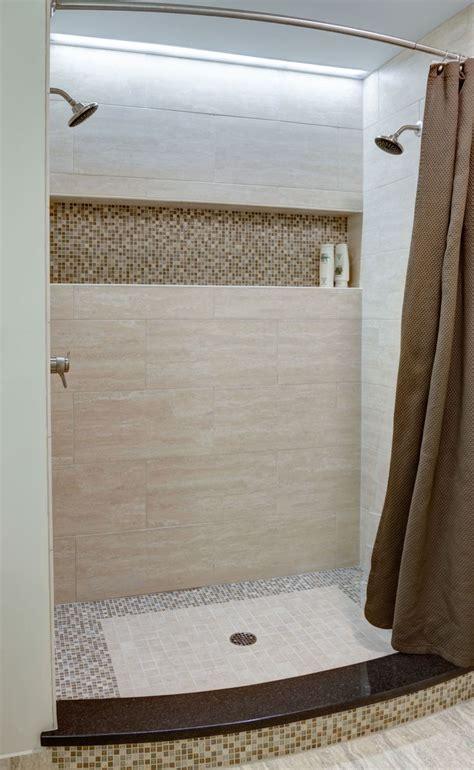 master bath shower   showerheads   long