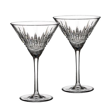 cocktail glass set buy waterford lismore glasses set of 2