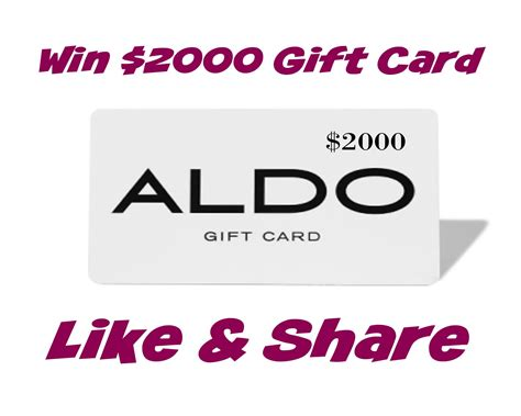 Aldo Shoes Gift Card - aldo shoes contest win a 2000 aldo shoes gift card