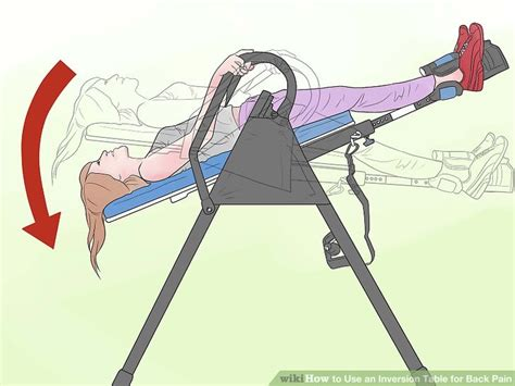 inversion table therapy routine how to use an inversion table for back 15 steps