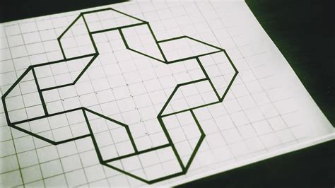 pattern drawing youtube how to draw 3d patterns geometric studies 3d folding