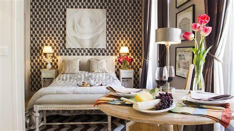 Tiny Studio Apartment With Stylish Parisian Decor