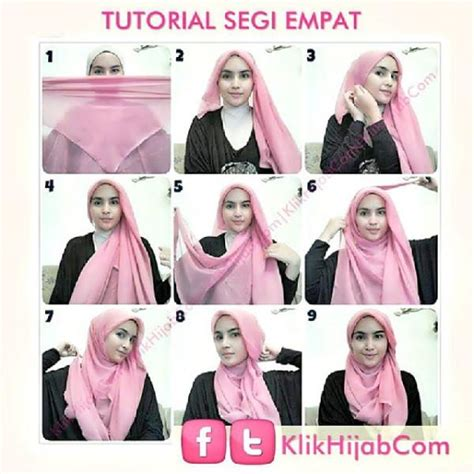 tutorial cara berhijab paris tutorial hijab segi empat android apps on google play
