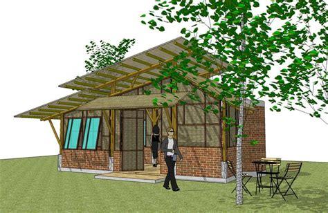 kebun bambu rumah bambu pilihan  cantik