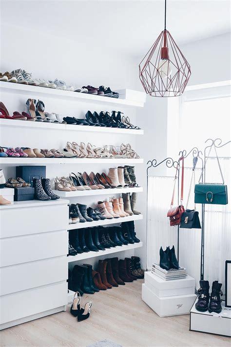Schuhe Aufbewahren Ideen by Meine Schuhwand Im Ankleideraum Who Is Mocca