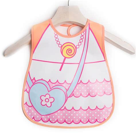 Babiyo Disposable Bibs the baby bib waterproof saliva children disposable aprons stereo and pocket