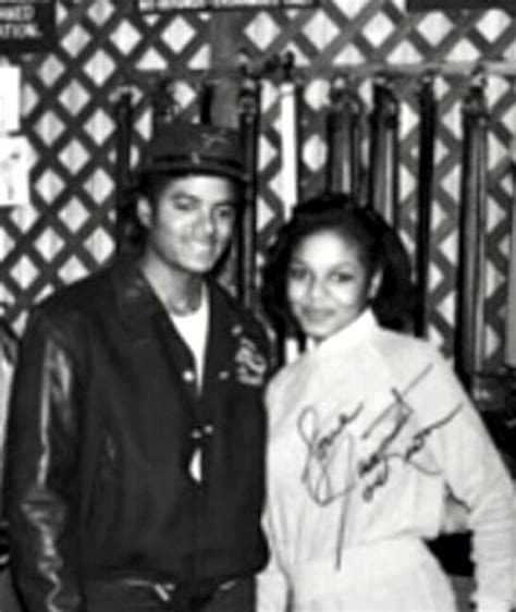 Janet Jackson On Michael by Michael Jackson And Janet Jackson Photo Michael And