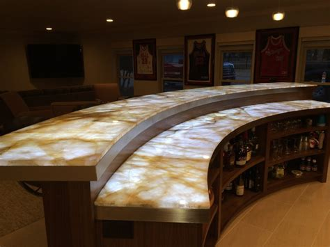Backlit Onyx Countertop by Slablite The Solution For Backlighting Translucent