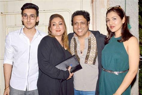 actor govinda parents govinda cries at daughter tina ahuja s film debut pakdestiny