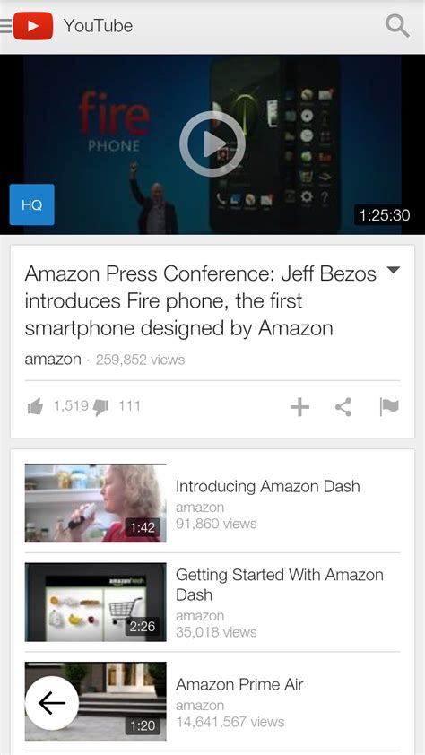 amazon youtube amazon com youtube appstore for android