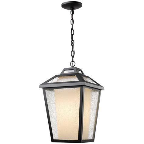 Outdoor Chain Lights 1 Light Outdoor Chain Light Black