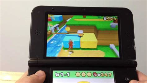 Nintendo 3ds Xl Mario 3d Land Original N3ds mario 3d land gameplay on 3ds xl 1080p hd