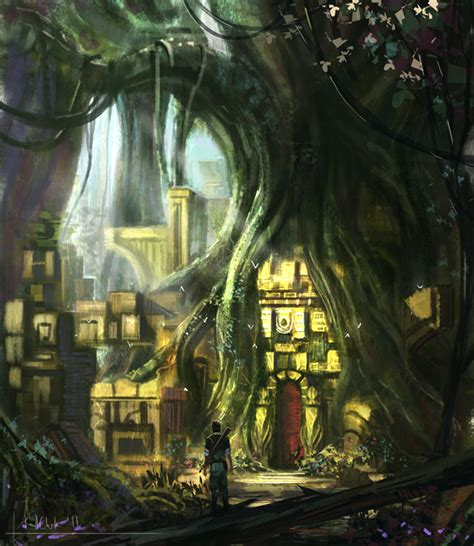 Ancient Ls by Forest Ruins Ls By K04sk On Deviantart