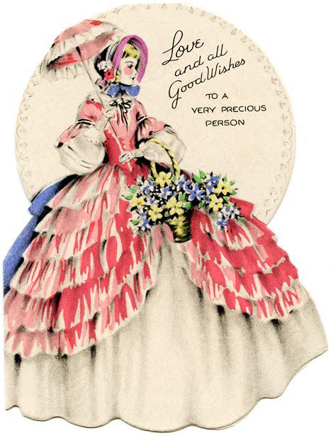 Images Vintage Birthday Cards Vintage Birthday Cards For Girls Old Design Shop Blog