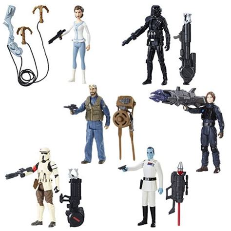 3 inch figures wars rogue one 3 3 4 inch figures wave 3 set