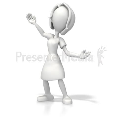 Woman Presenter Education And School Great Clipart For Presentations Www Presentermedia Com Presenter Medi