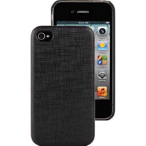 H Iphone 4s by Moshi Iglaze Kameleon For Iphone 4 4s Black 99mo036002 B H