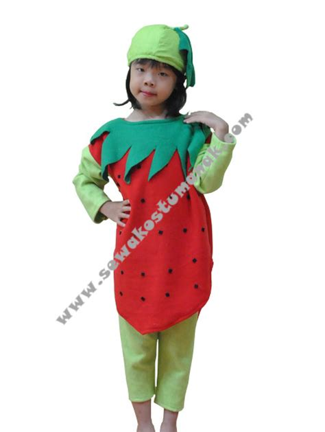 Sewa Kostum Costume Import kostum buah stroberi kostum buah buahan sewa kostum